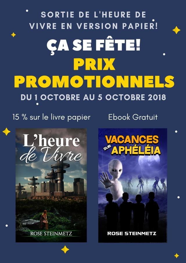 Promotion exceptionnelle